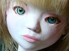 diy faux glass doll's eyes tutorial *with Gel du Soleil uv resin*