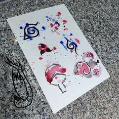 Naruto watercolour watercolor Aquarell Tattoo wanna do vorlagen konoha sasuke anbu Einheit Anime Tattoos, Disney Tattoos, Body Art Tattoos, Small Tattoos, Sleeve Tattoos, Tatoos, Arabic Tattoos, Dragon Tattoos, Boruto