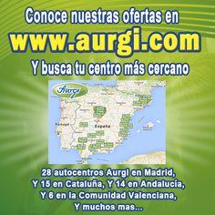 Conoce nuestros centros Aurgi. Más de 60 centros Aurgi a tu disposición  nivel nacional. https://www.aurgi.com/index.php/buscar-un-centro