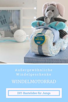 ausgefallenes geschenk zur geburt diy babygeschenk junge ein praktisches h bsches. Black Bedroom Furniture Sets. Home Design Ideas