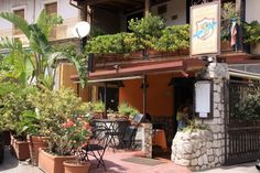 Ristorante Castelluccio in Taormina, Sicily. Family run wonderful restaurant with outside seating in the garden. Excellent food and reasonably priced.