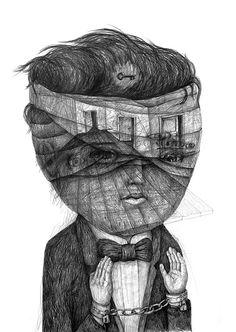 Drawings 2013 part 2 by Stefan Zsaitsits
