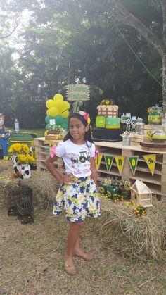 Idea vestuario Big Sister birthday jhonny tractor