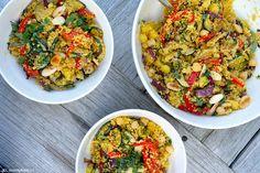 We aten eigenlijk nooit couscous hier thuis, maar daar gaat met dit recept voor couscous met geroosterde groenten zeker verandering in komen!