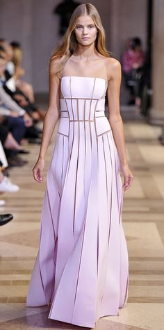 The Stunning Dresses from #NYFW- Carolina Herrera  - from InStyle.com