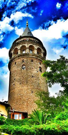 Galata Kulesi by elifkaragozogluu on 500px - #istanbul #manzara