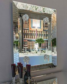 Fenster Holz Spiegel 2 Klappen Antik Rustikal Design Blau Oder Beige Elegant Und Anmutig Spiegel