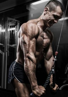 Bodybuilding The Absolute Best Triceps Workout: 5 Triceps Exercises That You Should Be Doing Fitness Gym, Muscle Fitness, Mens Fitness, Fitness Motivation, Physical Fitness, Biceps And Triceps, Triceps Workout, Muscle Building Tips, Build Muscle
