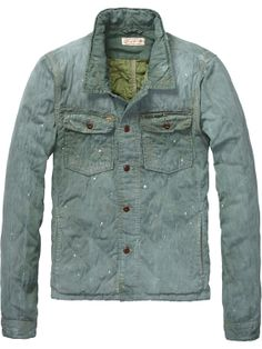 denim shirt jacket  / Scotch & Soda