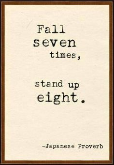 stand up, always!!