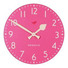 pink clock ❤ #pink #SilkDegreesHome
