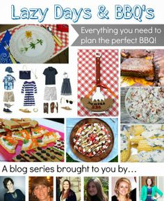 Party planning tips, recipes, and table ideas for hosting a BBQ.