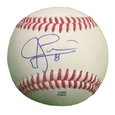 Jed Lowrie Autographed Rawlings ROLB Leather Baseball, Proof Photo. Jed Lowrie Signed Rawlings Baseball, Oakland Athletics, Houston Astros, Boston Red Sox, Proof  This is a brand-new Jed Lowrie autographed Rawlings official league leather baseball.  Jed signed the baseball in blue ball point pen. Check out the photo of Jed signing for us. ** Proof photo is included for free with purchase. Please click on images to enlarge. Please browse our website for additional MLB autographed…