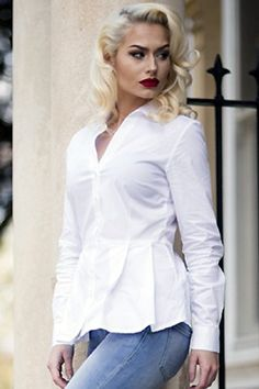 75c5ddc086f6c2 139 Best THE PERFECT WHITE SHIRT images in 2018 | White dress shirts ...