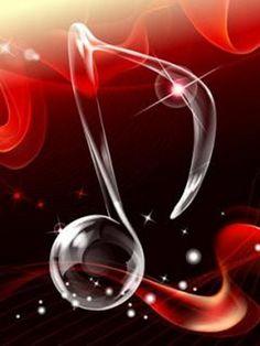- Floating Music Note - #music #musicnotes #musicsymbols http://www.pinterest.com/TheHitman14/music-symbols-%2B/