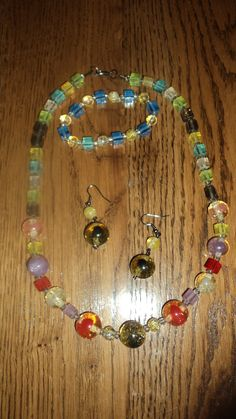 glass beads lampwork with shiny particles,$ 25