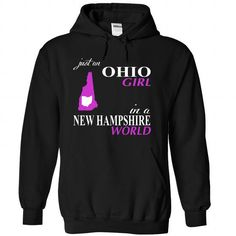 OHIO GIRL IN a NEW HAMPSHIRE WORLD T Shirts, Hoodies. Check price ==► https://www.sunfrog.com/Names/OHIO-GIRL-IN-a-NEW-HAMPSHIRE-WORLD-Black-63454758-Hoodie.html?41382 $39