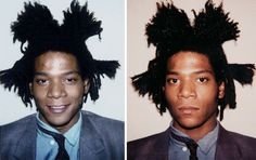 Throwback: Jean-Michel Basquiat polaroids by Andy Warhol (1982)