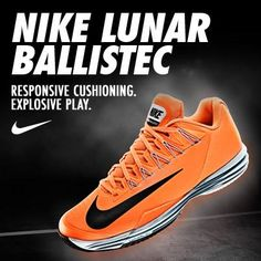 New #Nike tennis shoe colors are now available, including the Lunar Ballistec!
