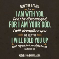 Today's Encouraging Word www.klove.com/verse