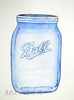 How to Paint a Canning Jar - Just Paint It Blog