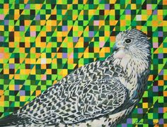 What Makes your Life Lively? Sairah Ali's Acrylic Animals Paintings-blend with its Background