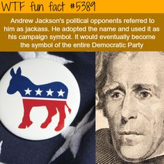 : The origin of the Democratic party symbol - WTF fun facts   March 17 2016 at 04:58AM   http://www.letstfact.com