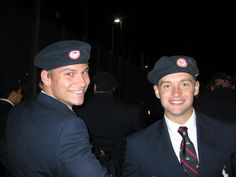 Ryan Chalmers (BS '11 AHS) and Brian Siemann (May 2013 LAS) at 2012 London Paralympic Opening Ceremonies