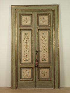 Galluzzi walter falegnameria artigianale per restauro e - Porte antiche dipinte ...