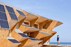 Solar Pavilion Wood - News of Architecture - Architecture Finder