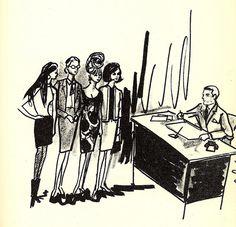 Edith Head illustration