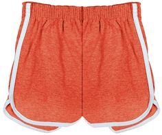 70's Jogging Shorts Women's Retro Short Red