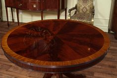 Baker Furniture Round Dining Table Historic Charleston - 70 inch round pedestal dining table