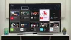 2015 Samsung 4K UHD Smart TV (JU7100) - Downloading and Searching for Ap...