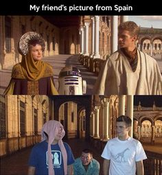 Spain Wars… this person has the right kind of friends.
