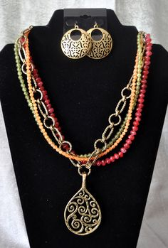 Sherbet and Baroque by Premier Designs Jewelry -