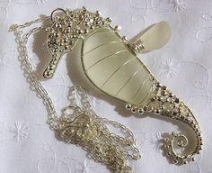 Sea Glass Seahorse Pendant