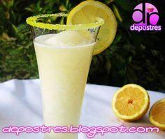 Glass Of Milk, Drinks, Html, Food, Sherbet Recipes, Desserts, Lemon Sorbet, Water, Cooking