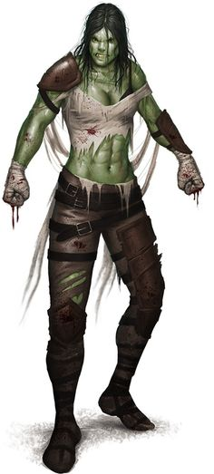 "Half-Orc from ""Bastards of Golarion"" http://paizo.com/image/content/PathfinderPlayerCompanion/PZO9442_HalfOrc_500.jpeg"