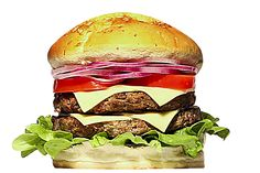 BIG MEDEME!: Pão especial, 02 hambúrgueres exclusivos com calabresa (150g cada – total 300g), queijo mozzarella, salada de alface, tomate e cebola roxa.