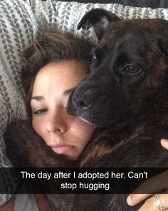 What a difference adoption makes in a dog's life!!