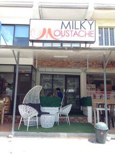 Milky Moustache Cafe