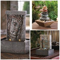 Find Your Zen and Tranquility !   Gorgeous Indoor Water Fountains at Rum Garden.Net