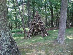 """""""How To Build A Teepee For your Kids"""" - AWESOME!!!"""