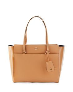 0be69672aa8b Tory Burch Parker Saffiano Tote Bag Small Tote Bags