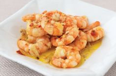 Shrimp with Garlic and Hot Pepper. God I love shrimp.