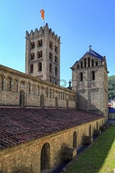 Santa Maria de Ripoll monastery, Catalonia,Founded in 879, is considered the cradle of the catalan nation. Catalonia | Europe