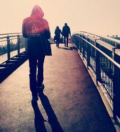 Couple date bridge autumn 선유도공원