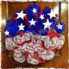 Red White & Blue wreath
