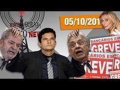 Campeão da Corrupção, Lula Indiciado, FHC na lava jato, Greve dos Bancários e Andressa Urach